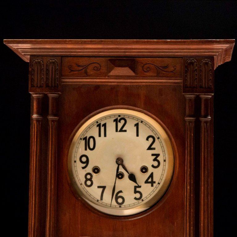 French Henry II-style Wall Clock c.19th Century - 2