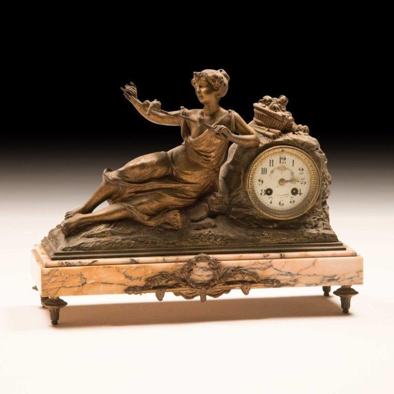 19th Century Louis XVI-style Mantle Clock