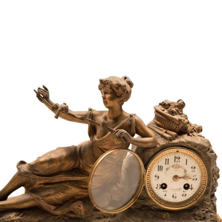 19th Century Louis XVI-style Mantle Clock - 2