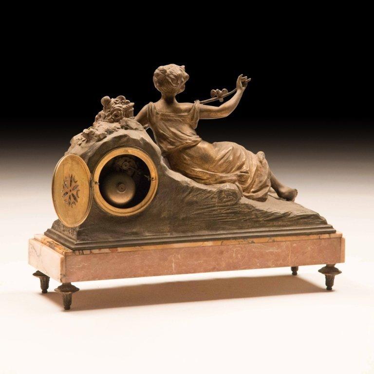 19th Century Louis XVI-style Mantle Clock - 3