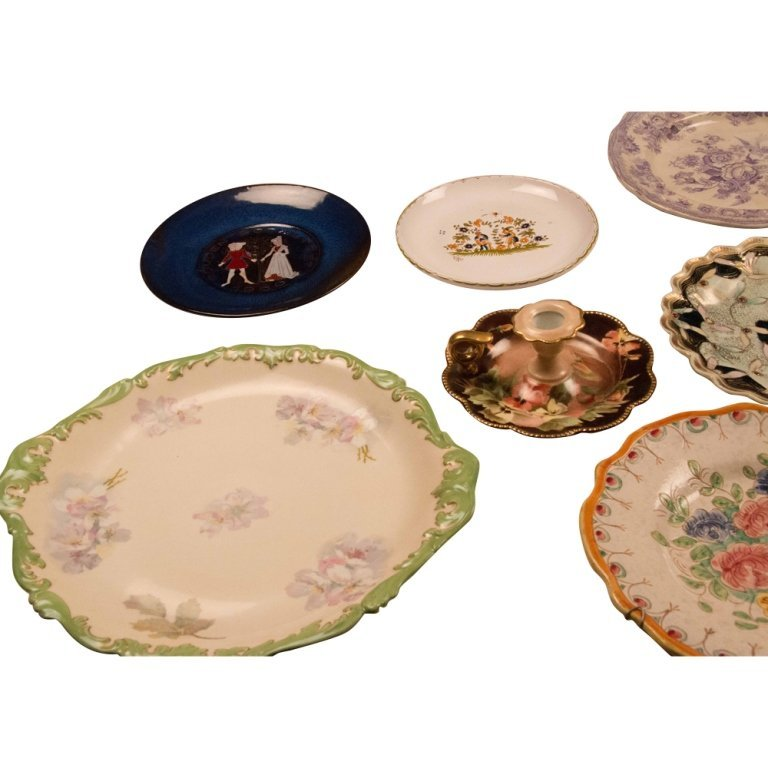 Lot of 9 Decorative Plates, Mid 20th Century - 2