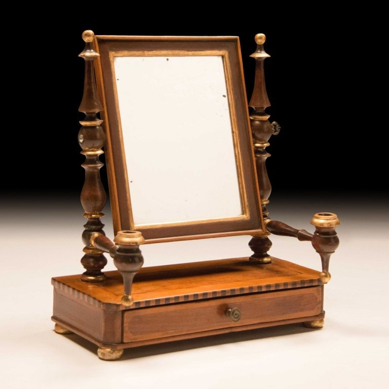 19th Century Gentleman's Dressing Mirror