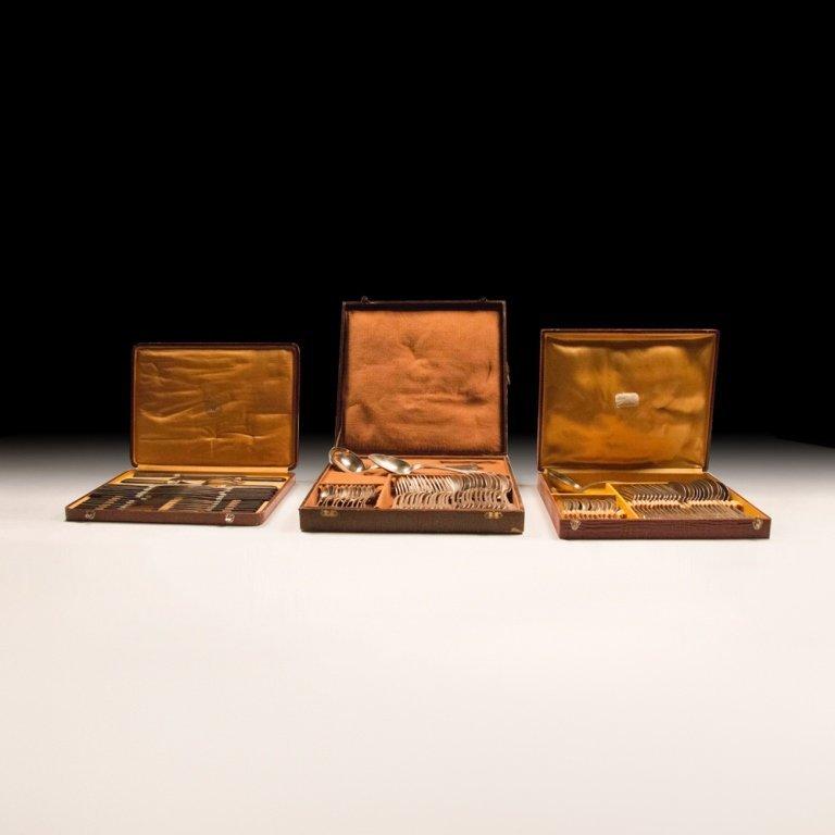 Three Silverware Sets