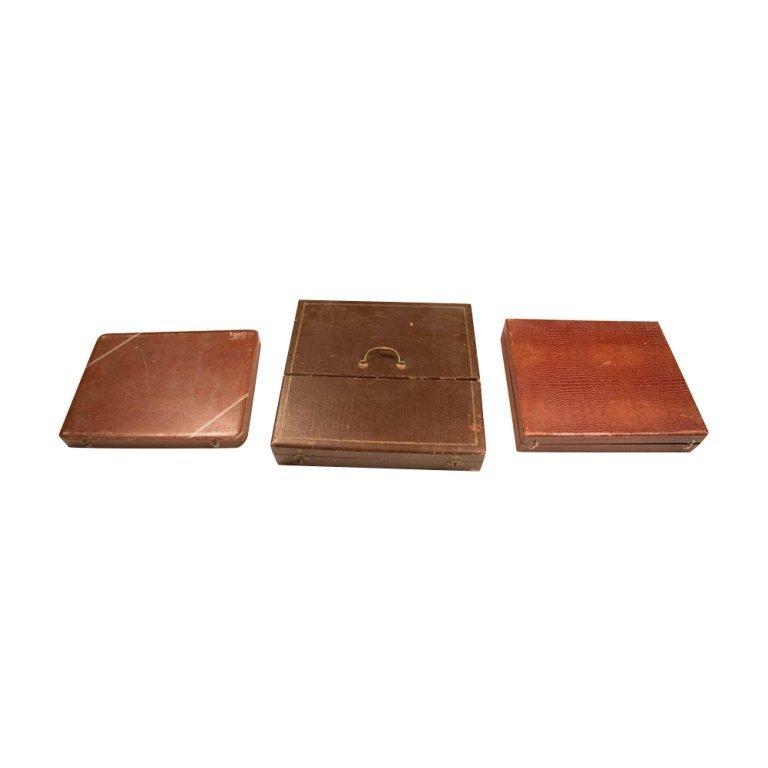 Three Silverware Sets - 6