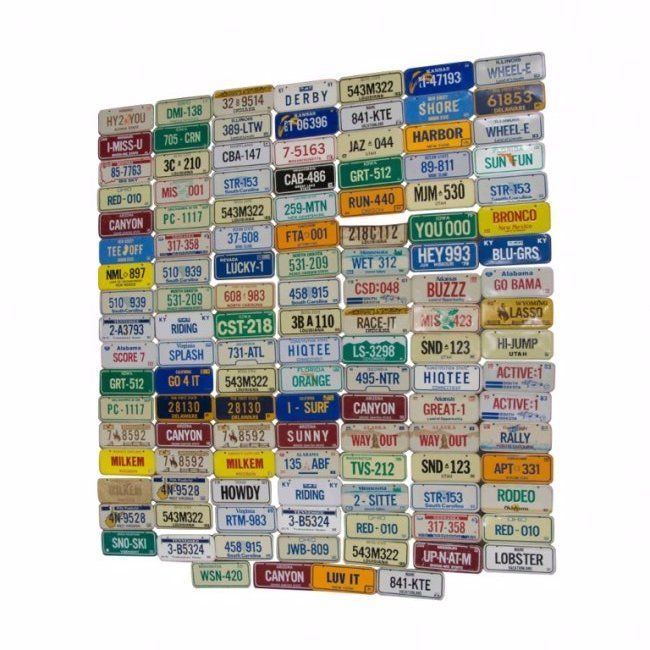 100+ Collectible Motorcycle Plates from Cereal Boxes