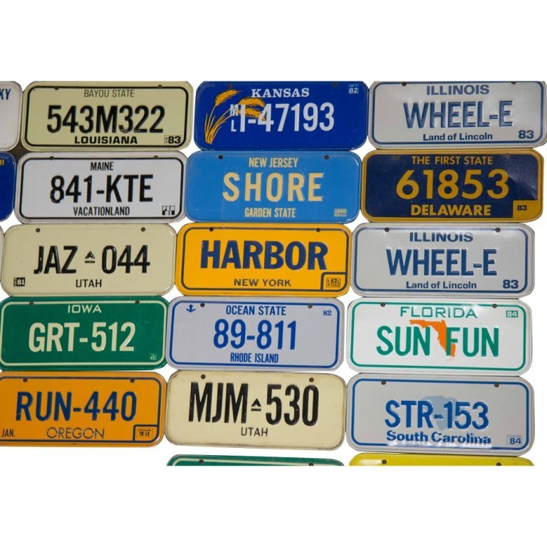 100+ Collectible Motorcycle Plates from Cereal Boxes - 2