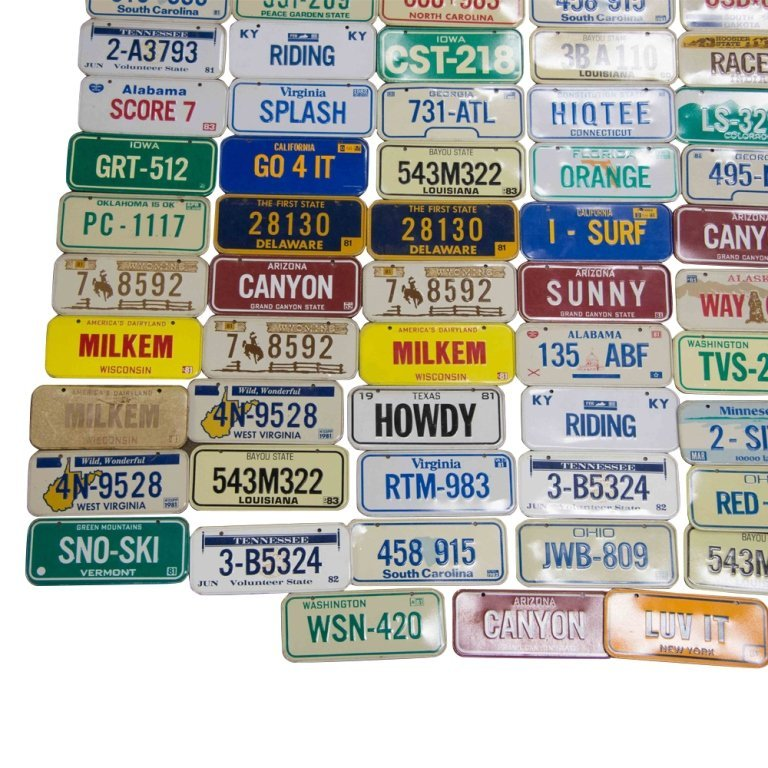 100+ Collectible Motorcycle Plates from Cereal Boxes - 7