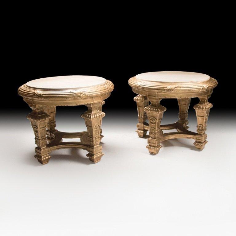 Louis XVI-style Pair of Jardinieres Pedestals