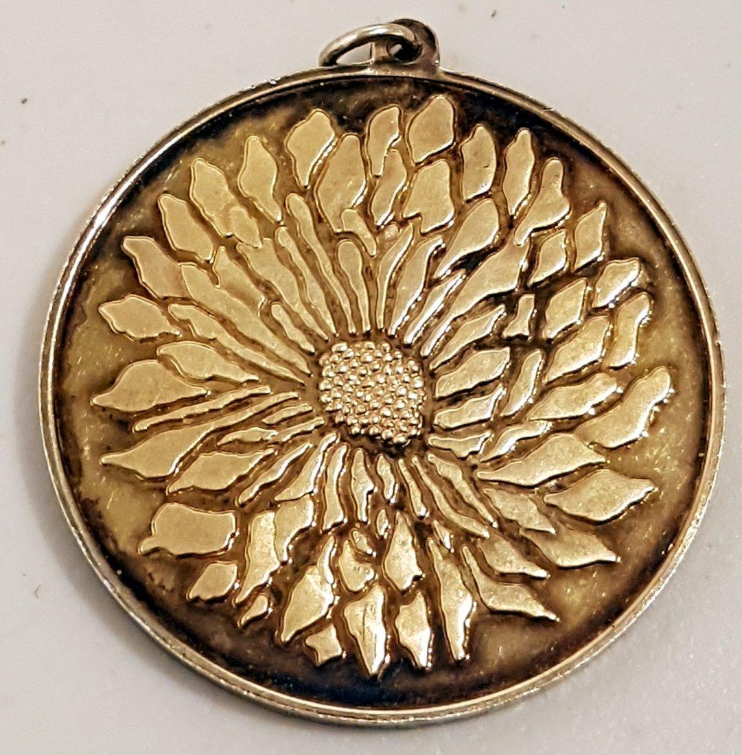 Japanese   925 Silver   Medal