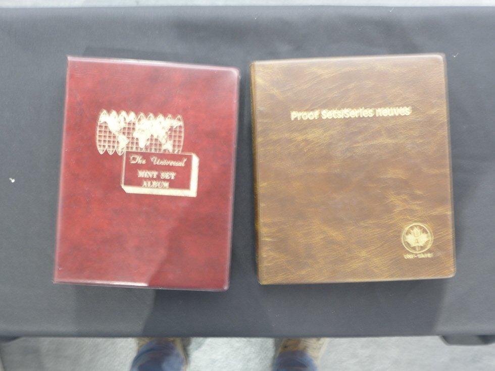 Canadian Coins mint 32 sets album book _ (1961-1992)