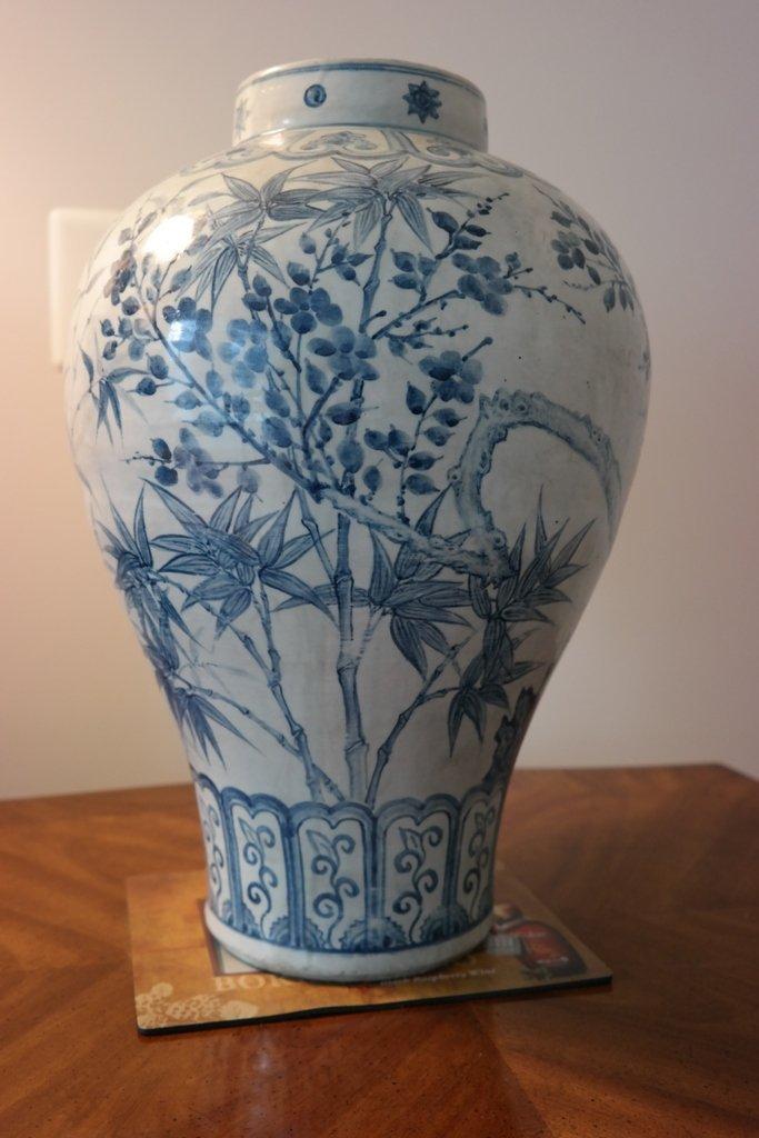Korean Joseon D. 19C  Blue&White ware
