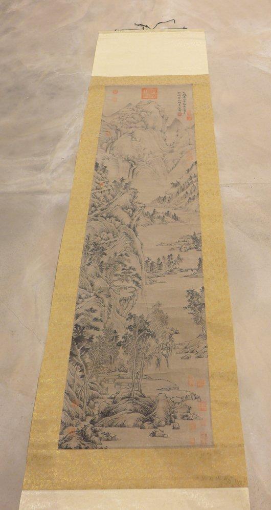 Chinese Yuan D.  Landscape by 'Huang Gong Wang'