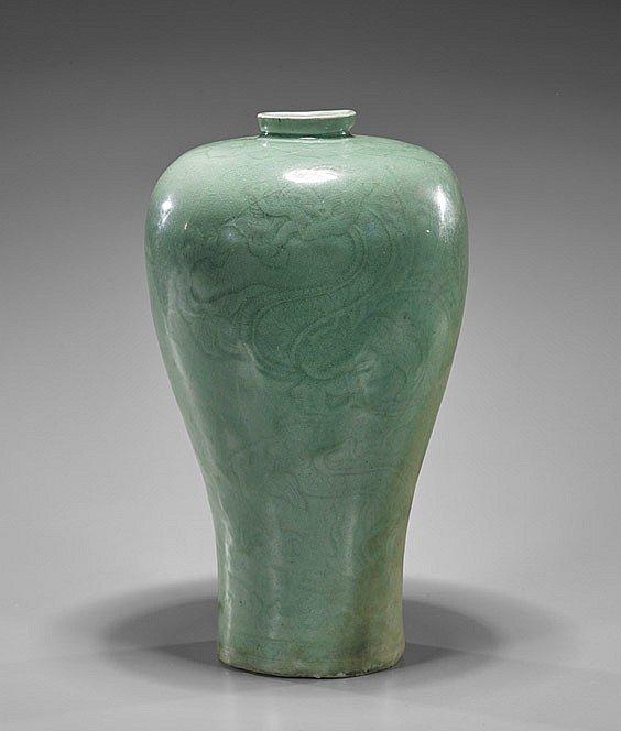 Korean Porcelain Goryeo D.靑磁梅