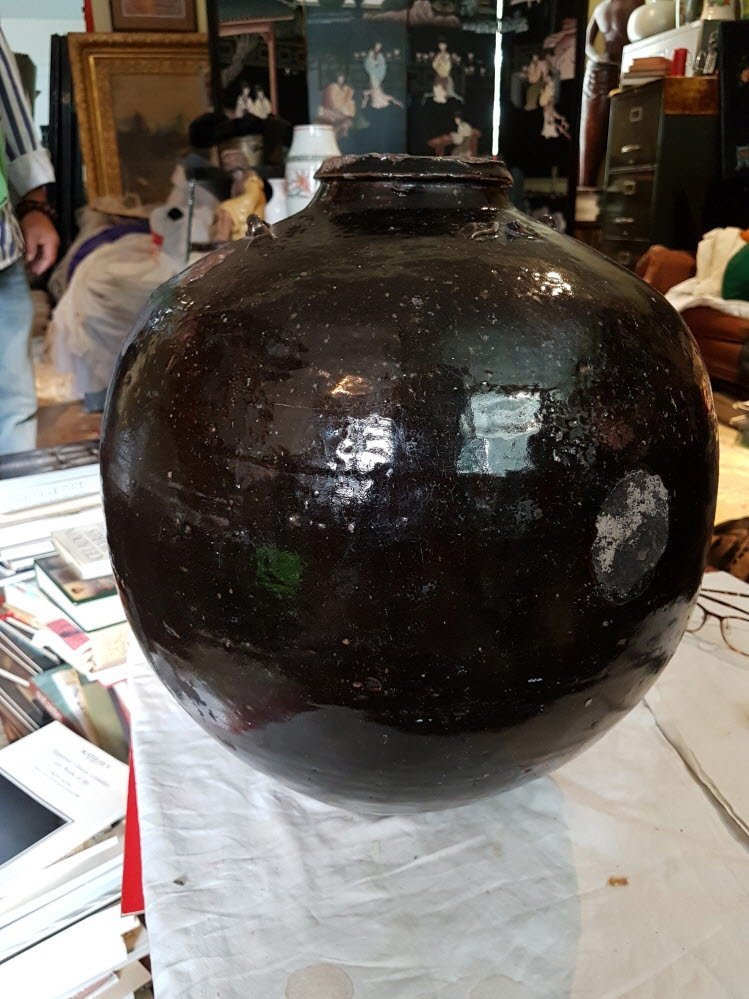 Japanese jar / 16-17c