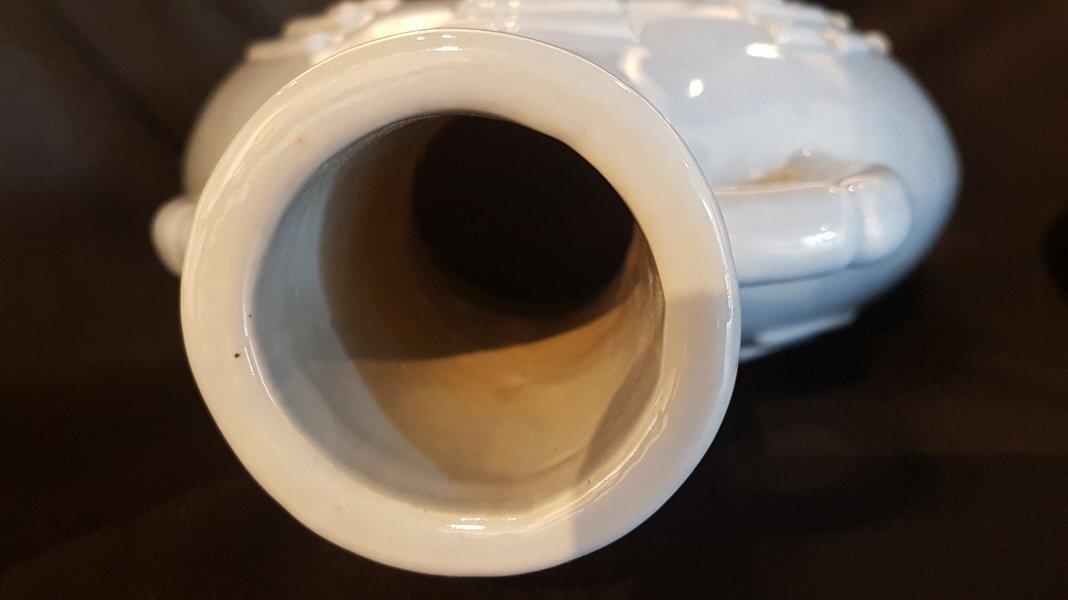 Chinese porcelain 2 moon flasks vase set,Yongzheng - 3