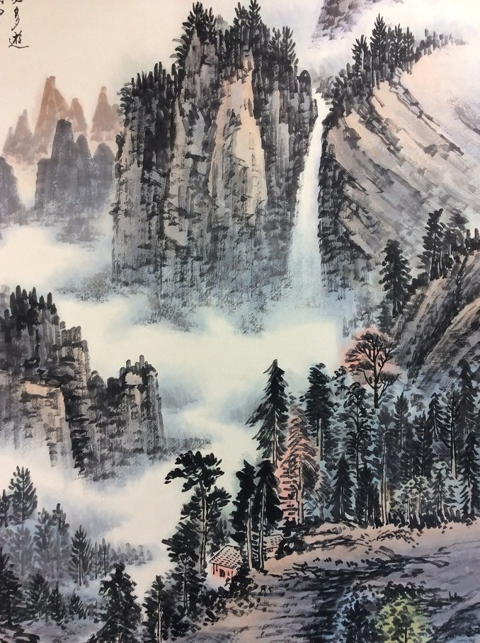 Chinese original landscape by Huangjunbi(1898-1991) - 5