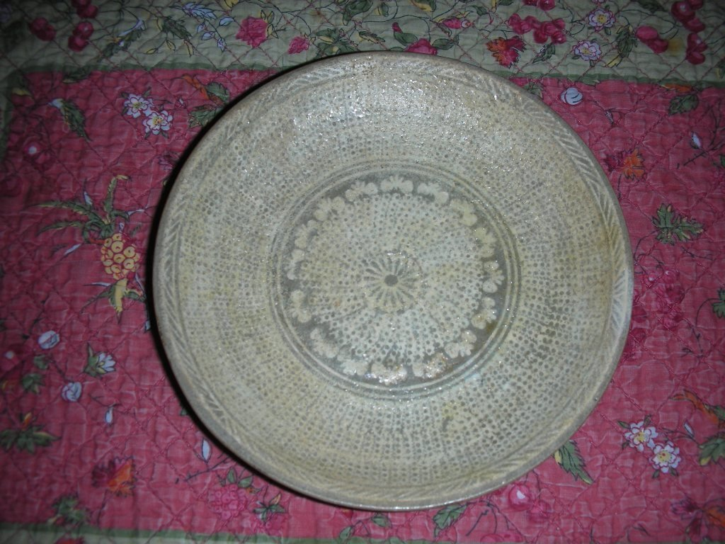 Korean Inlaid  2 Plates in 15th centry
