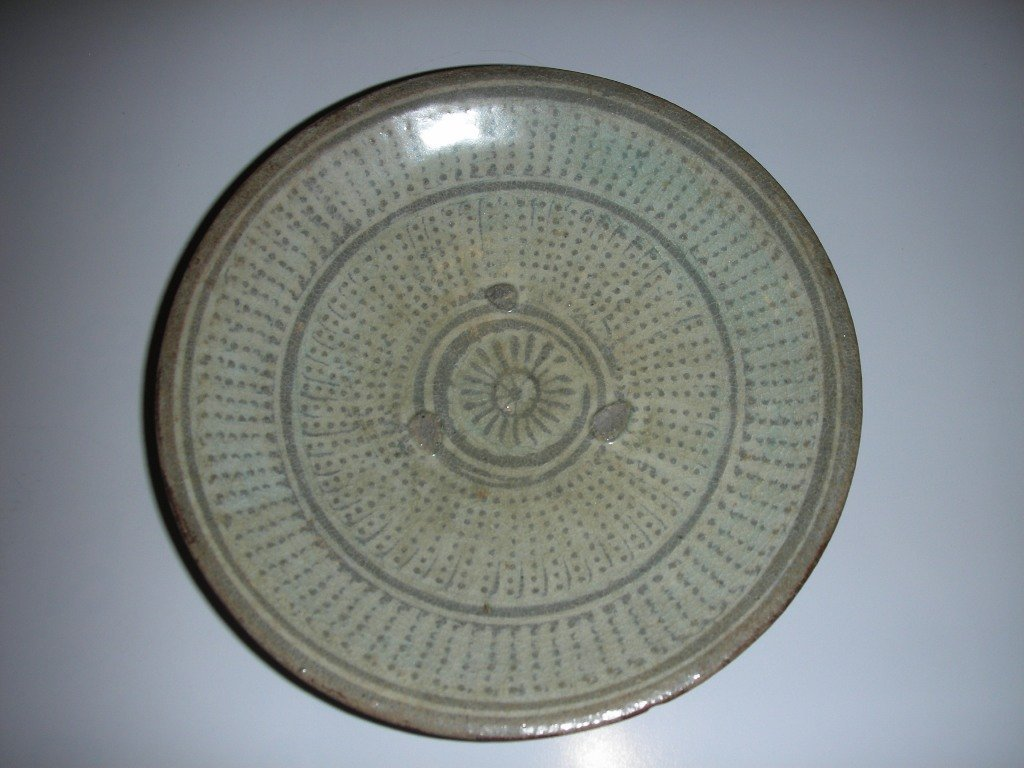 Korean Inlaid  2 Plates in 15th centry - 2