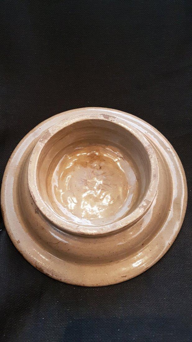 Korean Celadon KoRyeo tea cup&plate with Wooden Storage - 8