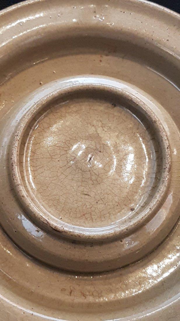 Korean Celadon KoRyeo tea cup&plate with Wooden Storage - 9
