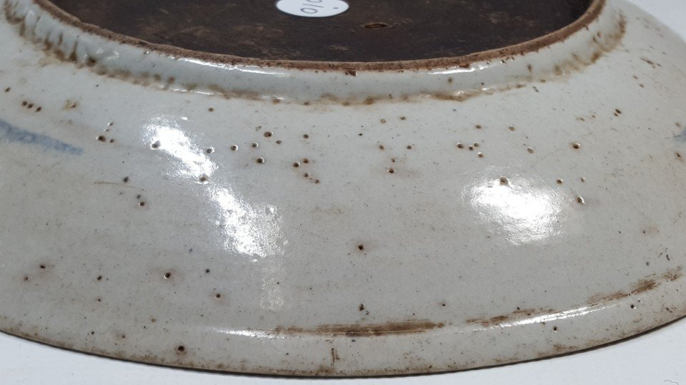 Chinese fish porcelain plate from Qing dynasty - 7