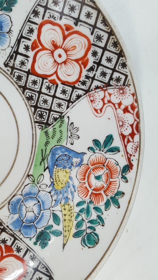 Chinese flower porcelain plate - 3