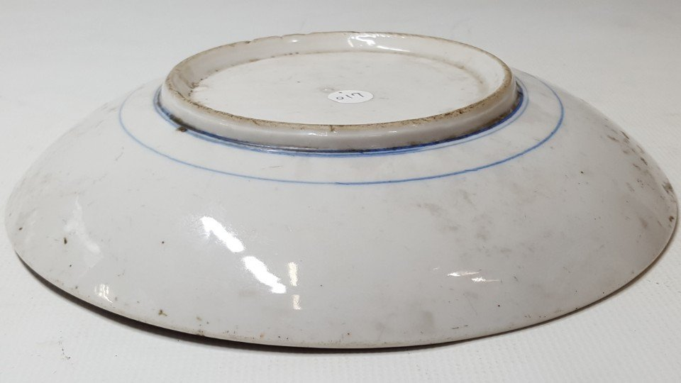 Chinese flower porcelain plate - 8