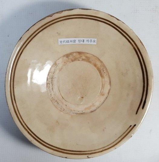 Chinese small plate from Qing dynasty