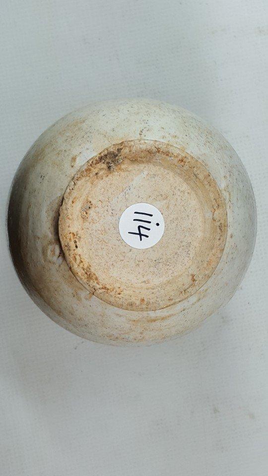 Chinese Yuanzhou Cizhou kiln white-glaze vase - 5