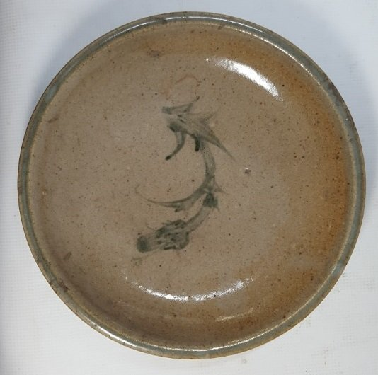 Chinese porcelain plate from Qing dynasty