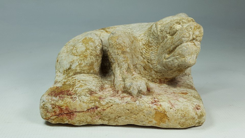 Chinese Carved Stone Sculpture of Beast