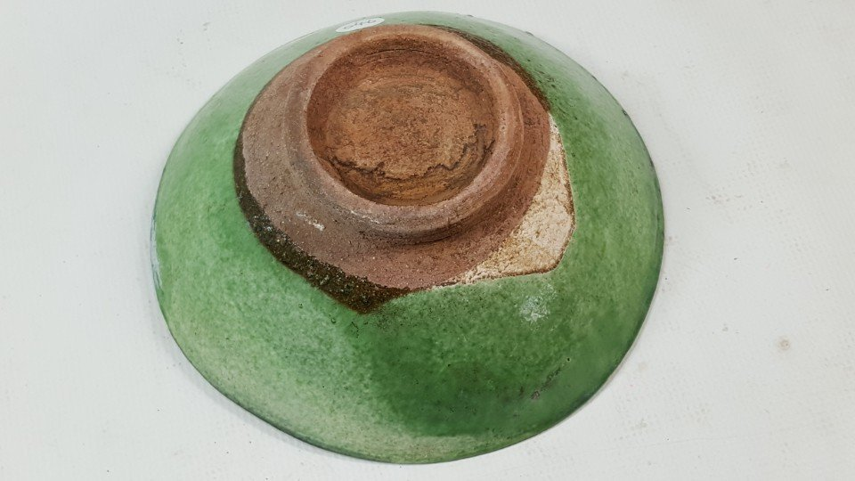 Chinese Green Grazed bowl from Liao dynasty - 5