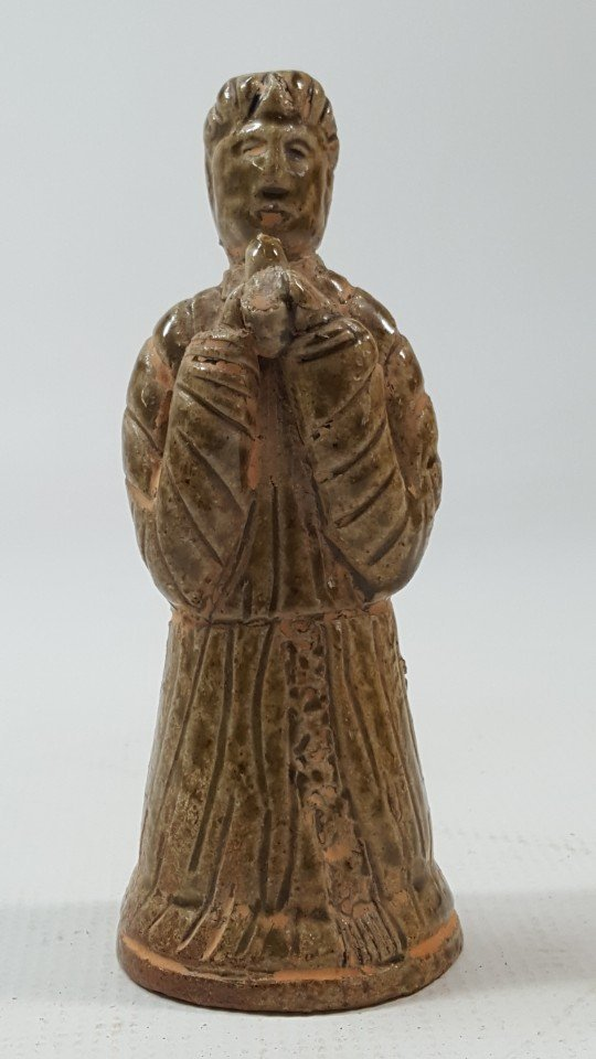 Chinese pottery figurine from Tang dynasty
