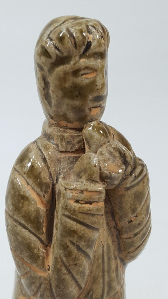 Chinese pottery figurine from Tang dynasty - 3