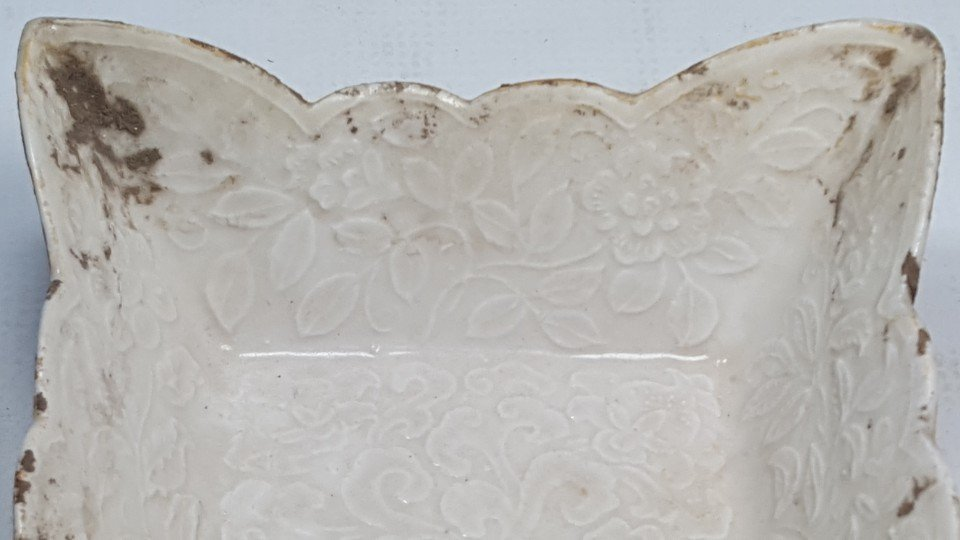 Chinese Porcelain Flower Pattern Plate - 8
