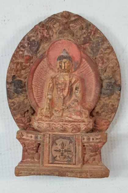 Chinese small Buddha figurine Qing dynasty
