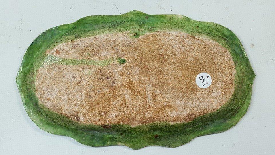 Chinese Green Grazed Sancai (三彩) Liao - 5