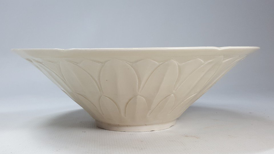 Chinese Porcelain Dingyao Lotus Petal  Bowl - 2