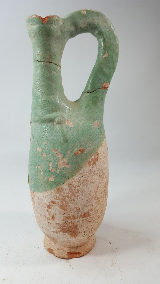 Chinese set of 2 wine bottles from Liao dynasty - 4