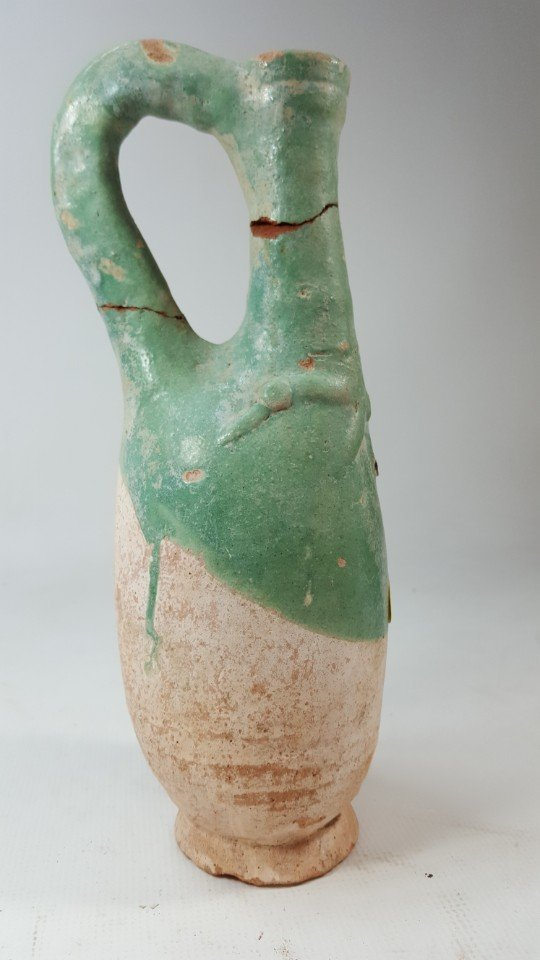 Chinese set of 2 wine bottles from Liao dynasty - 5