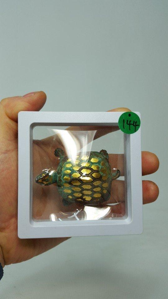 Chinese Gilt Gold Turtle Figurine - 10