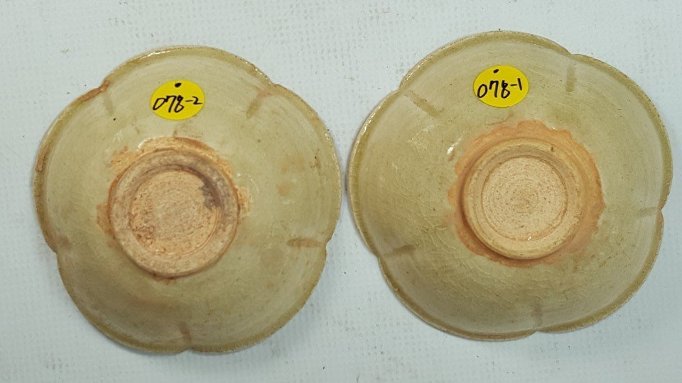 Chinese set of two tea cups from Sui dynasty - 2