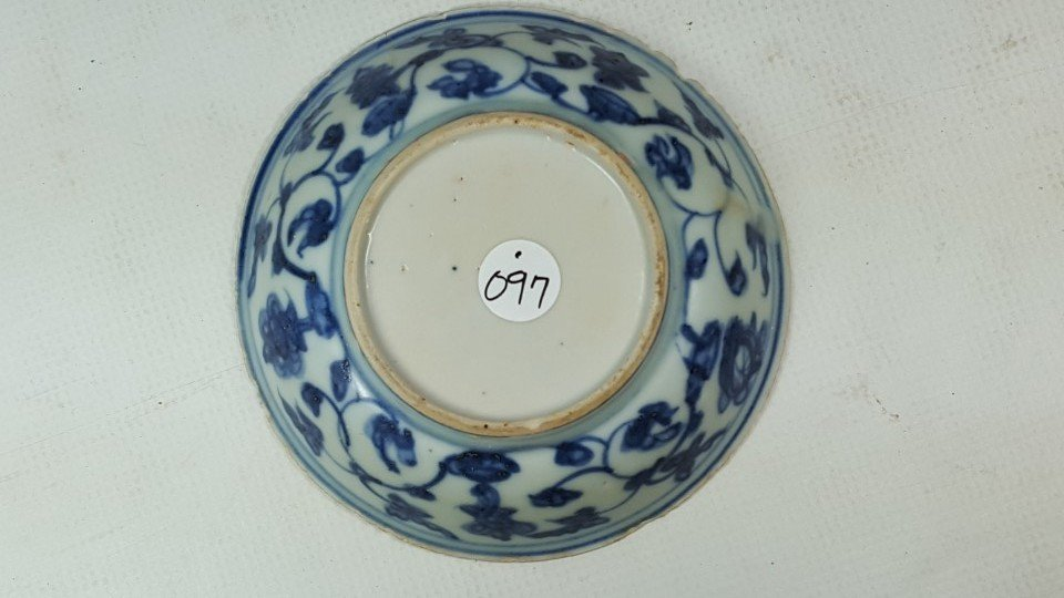 Chinese porcelain small plate from Ming - 3