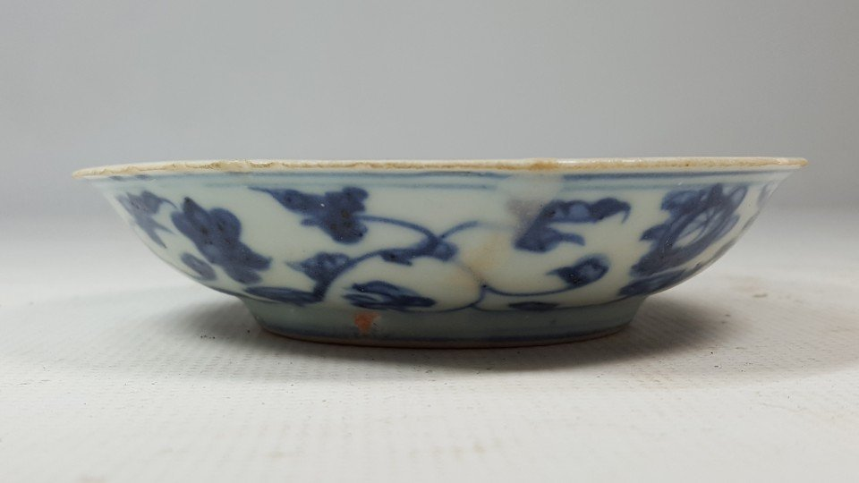 Chinese porcelain small plate from Ming - 7