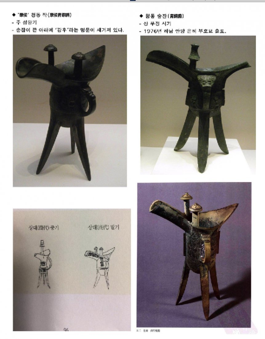 Chinese bronze 3 legged cup from Shang dynasty - 9