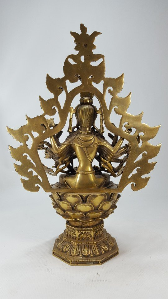 Chinese Bronze Buddha from Tang dynasty - 2