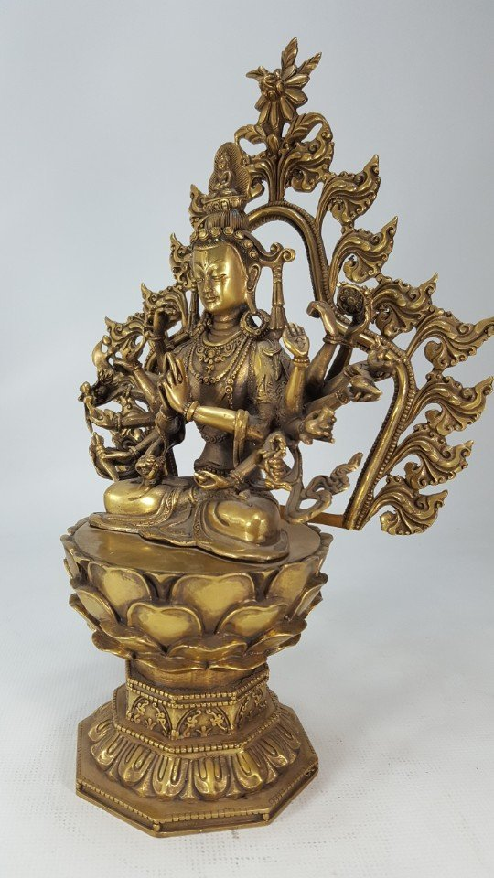 Chinese Bronze Buddha from Tang dynasty - 6