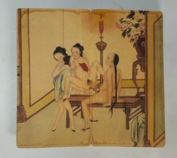 Chinese screen hand painting - 7