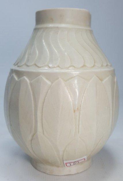 Chinese Lotus Petal Pattern Dingware Vase