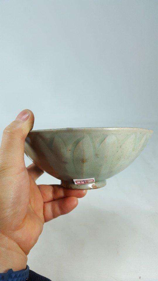 Chinese Lotus Pattern Porcelain Bowl - 7